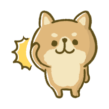 Lovely Akita Dog Emoji messages sticker-3