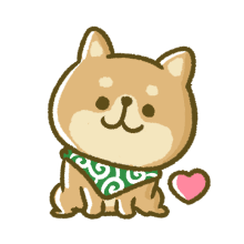 Lovely Akita Dog Emoji messages sticker-10