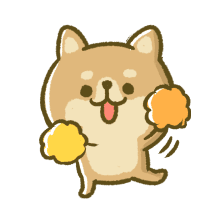 Lovely Akita Dog Emoji messages sticker-7