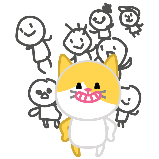 Cute baby cat ver.blind messages sticker-11