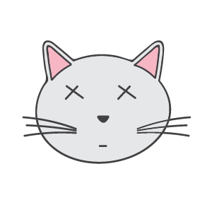 Cat Ashamed Sticker messages sticker-8