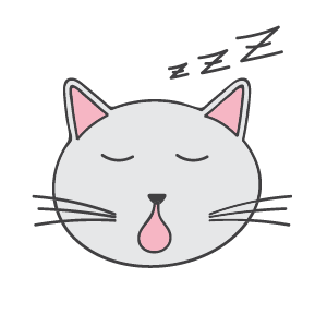 Cat Ashamed Sticker messages sticker-3