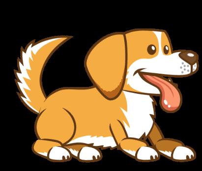Golden Dog Emojis Stickers messages sticker-1