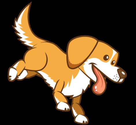 Golden Dog Emojis Stickers messages sticker-6