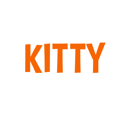 Kitty Is Not A Cat Stickers messages sticker-0