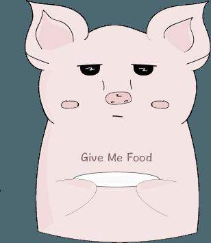 Cheeky Piggy messages sticker-0