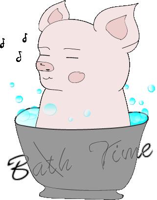 Cheeky Piggy messages sticker-8