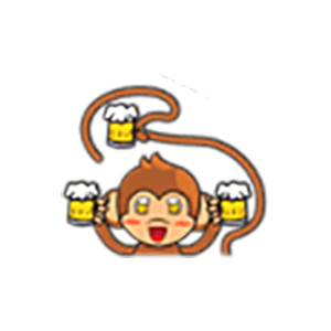 Cute Baby Monkey Stickers messages sticker-4