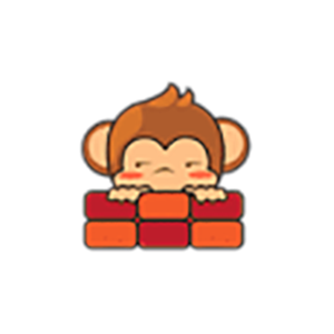 Cute Baby Monkey Stickers messages sticker-1