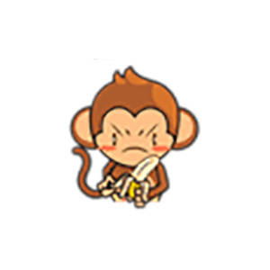 Cute Baby Monkey Stickers messages sticker-10