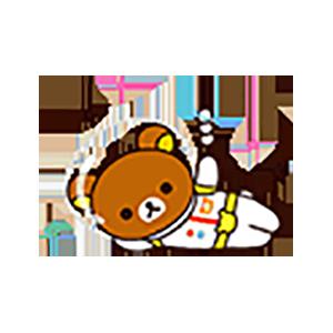 Cute Brown Bear Stickers messages sticker-8
