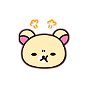 Cute Brown Bear Stickers messages sticker-6