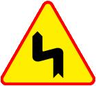 Znaki drogowe naklejki messages sticker-3