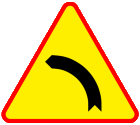 Znaki drogowe naklejki messages sticker-1