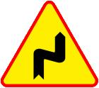 Znaki drogowe naklejki messages sticker-2