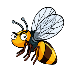 Bee Feeling Sticker messages sticker-8