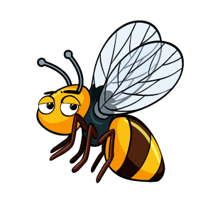 Bee Feeling Sticker messages sticker-6