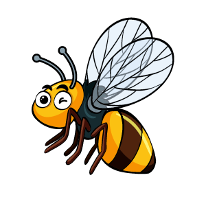 Bee Feeling Sticker messages sticker-0