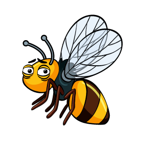 Bee Feeling Sticker messages sticker-3