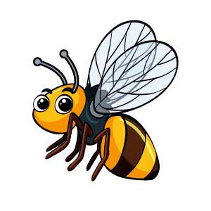 Bee Feeling Sticker messages sticker-7