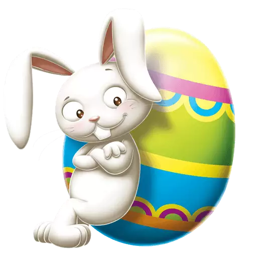 Easter Posters messages sticker-1