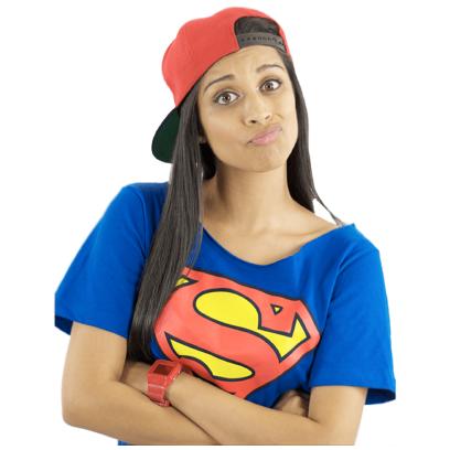 Superwoman messages sticker-11