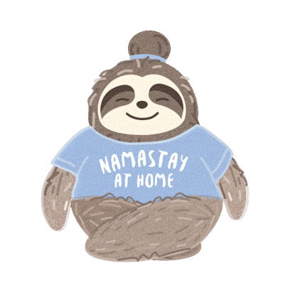 It's a Sloth Life Stickers messages sticker-5
