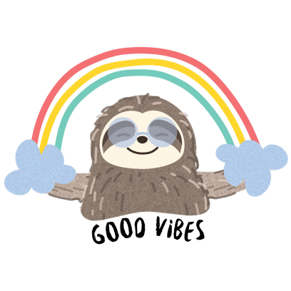 It's a Sloth Life Stickers messages sticker-7