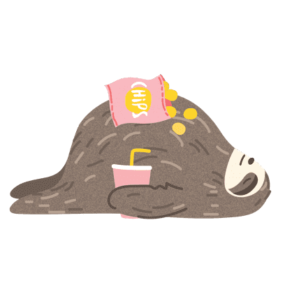 It's a Sloth Life Stickers messages sticker-6