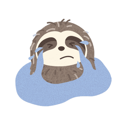 It's a Sloth Life Stickers messages sticker-11