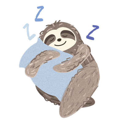 It's a Sloth Life Stickers messages sticker-0