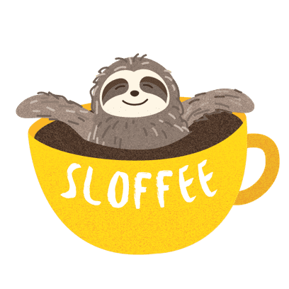 It's a Sloth Life Stickers messages sticker-2