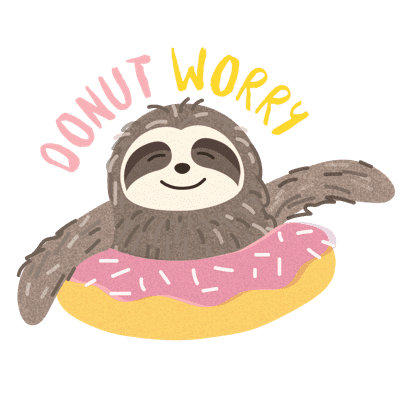 It's a Sloth Life Stickers messages sticker-4