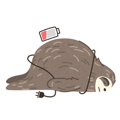 It's a Sloth Life Stickers messages sticker-1