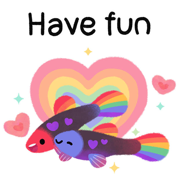 Rainbow guppy messages sticker-8