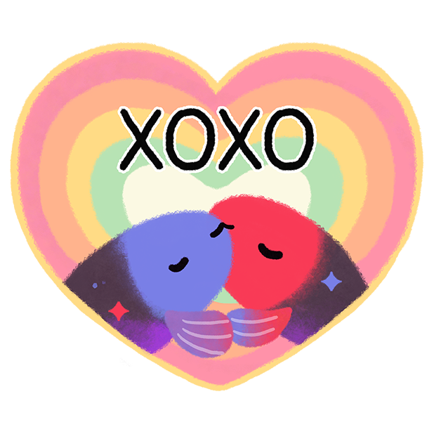 Rainbow guppy messages sticker-10