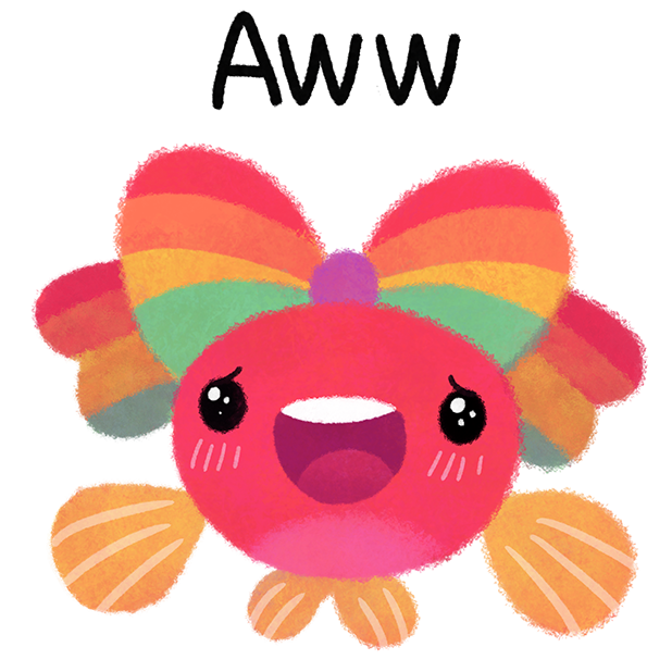 Rainbow guppy messages sticker-7