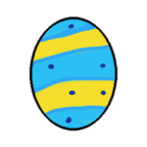Easter Egg : Stickers messages sticker-1