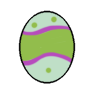 Easter Egg : Stickers messages sticker-6