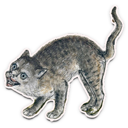 Medieval Cats messages sticker-1