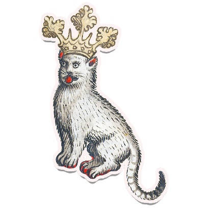 Medieval Cats messages sticker-7