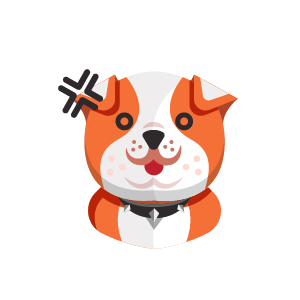 Dog Thinking Sticker messages sticker-0