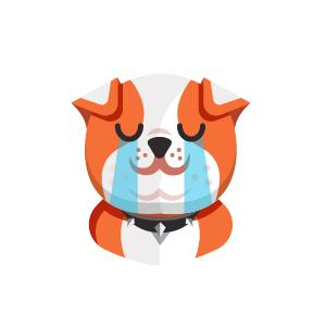 Dog Thinking Sticker messages sticker-5