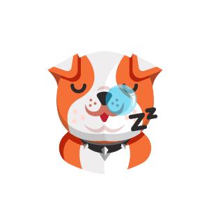 Dog Thinking Sticker messages sticker-8