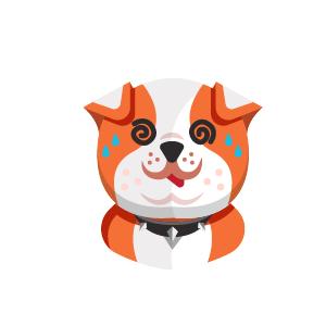 Dog Thinking Sticker messages sticker-6