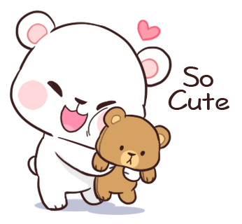 Official Milk and Mocha Bear messages sticker-7
