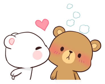 Official Milk and Mocha Bear messages sticker-6