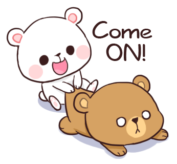 Official Milk and Mocha Bear messages sticker-11