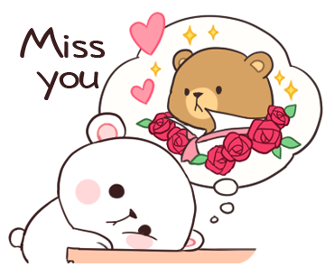 Official Milk and Mocha Bear messages sticker-1