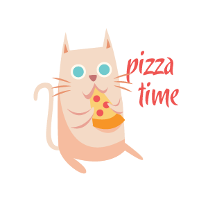 Cat Relaxing Sticker messages sticker-2